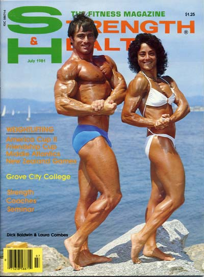 Strength and Health Bodybuilding Muscle Magazine/Lou Degni 1-58